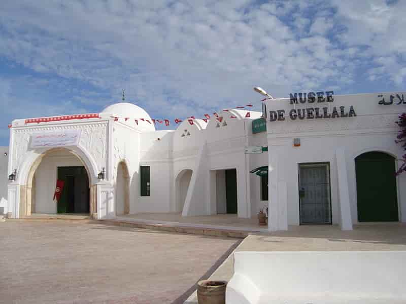 Entrance to the Guellala Museum